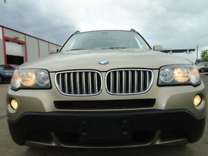 2007 BMW X3 3.0i SPORT-AWD-HEATED LEATHER-SUNROOF--CLEAN