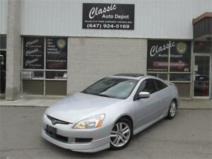 2004 HONDA ACCORD EX COUPE *6SPD,LEATHER,SUNROOF,LOADED!!!*