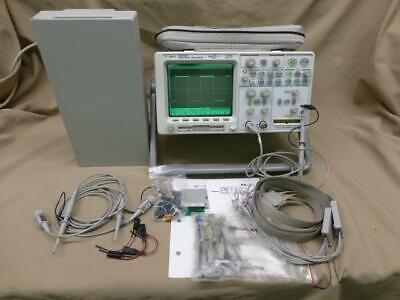 Hewlett Packard Agilent 54622d Digital Mso Oscilloscope W Accessories