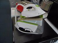 EX DISPLAY WHITE W/GREEN ACCENTS HOTPOINT STEAM GENERATOR (IRON) REF: RSG1