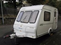 Lightweight Compass Lynx Plus Motor Mover Two Berth Touring Caravan