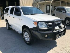 2006 Toyota Hilux GGN25R MY05 SR White 5 Speed Manual Utility