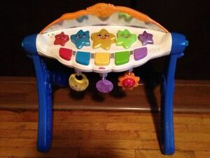 FISHER PRICE 3 IN 1 SINGING STAR GYM