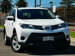 2013 Toyota RAV4 ALA49R GX AWD White 6 Speed Sports Automatic Wagon Prospect Prospect Area Preview