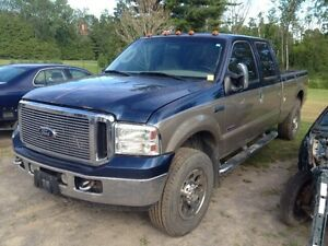 PARTING OUT 2006 FORD F350 SUPER DUTY 6.0L DEISEL 4x4