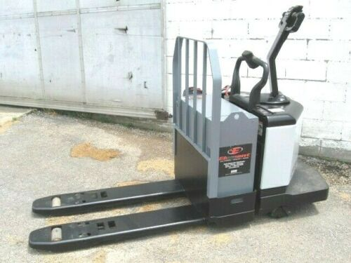 Crown PE3520-60 Walkie Rider Electric Pallet Jack Truck 6000 lb cap