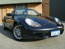 2004 Porsche Boxster 986 Blue 5 Speed Manual Convertible Willagee Melville Area Preview