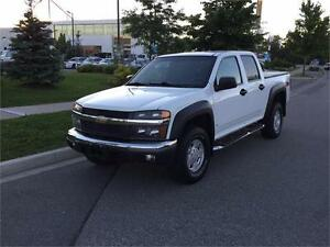 2007 Colorado, 4X4 Crew Cab, LT-Z71. Extremely Clean, Warranty!