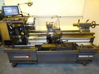 COLCHESTER TRIUMPH VS 2500 GAP BED CENTRE LATHE DRO YEAR 1997