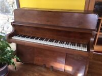 Small upright Bentley Piano. Free to music lover.