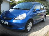 Honda Jazz 1.4 automatic, low mileage, MOT, 2 owners, Honda serviced, garaged,minor dinks.