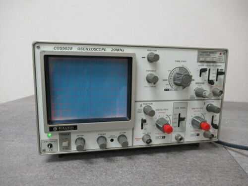Kikusui COS5020 Oscilloscope 20MHz 2 Channel #8360U