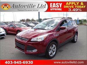 2014 Ford Escape SE , B. Cam, Heated Seats Everyone Approved