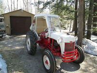 FORD 8N TRACTOR - RESTORED AND REBUILT - WITH ORIGINAL FORD CAB