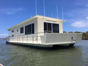 2010 Houseboat 44ft one owner $145,000 Ashmore Gold Coast City Preview