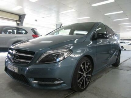 2013 Mercedes-Benz B250 246 MY13 BE Universe Blue 7 Speed Auto Direct Shift Hatchback