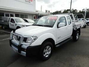 2012 Nissan Navara D40 S6 MY12 ST-X King Cab White 6 Speed Manual Utility Alexandra Headland Maroochydore Area Preview
