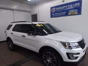 2016 Ford Explorer Sport AWD LEATHER NAVI SUNROOF