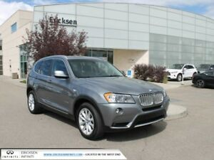 2013 BMW X3 ALL WHEEL DRIVE/HEATED SEATS/BACK UP CAMERA