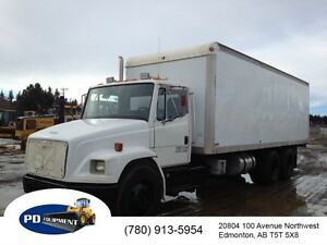 2000 Freightliner T/A Steam Pressure Washer Truck