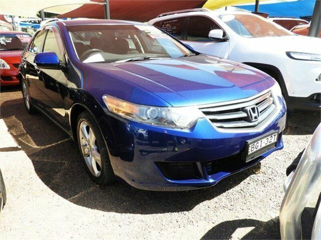 2008 Honda Accord Euro CU Luxury Blue 5 Speed Automatic Sedan | Cars