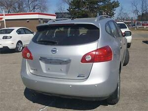 2011 NISSAN ROGUE S AWD SILVER ONE OWNER CLEAN CARPROOF