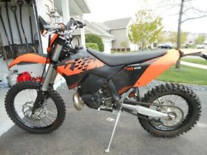 2009 KTM 250 XCW for trade