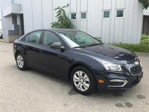 2015 CHEVROLET CRUZE LS MANUAL TRANSMISSION 29KM
