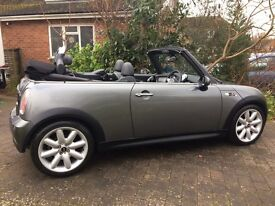 Mini Cooper S Convertible 12 months MOT very good condition, full service history