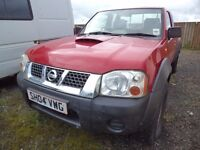 Nissan D22 King cab pick up 2004 sold for spares