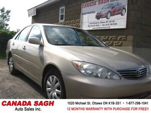 2006 Toyota Camry LE, LOADED MINT CAR !!! 12M.WRTY+SAFETY $7400