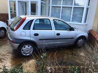 Vauxhall Corsa 1.0 Bargain Cheap to run daily 1st car