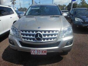 2008 Mercedes-Benz ML280 CDI W164 MY09 Silver 7 Speed Sports Automatic Wagon Winnellie Darwin City Preview