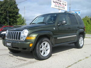 2007 Jeep Liberty Limited Edition SUV, Crossover 4X4
