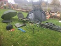 Carp Fishing JobLot - Brands Like JRC Nash and John Wilson - a Details In Description Only £490