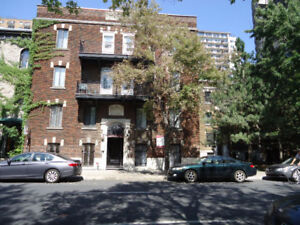 4 1/2, 1 MONTH FREE, JANV,downtown,FURNISHED APARTMENT, McGill