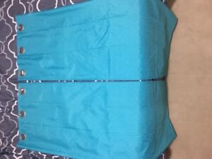Blue curtains - Great Condition!