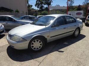 2000 Ford Falcon AU Forte Silver 4 Speed Automatic Sedan Sylvania Sutherland Area Preview