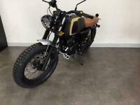 Mutt Akita 125 2020 Matt Black 125cc Learner Legal Motorbike