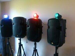 $25 Speaker Rentals& Projectors:For Banquet Hall/Party room/DJ's