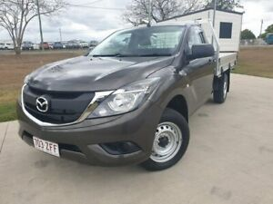 2016 Mazda BT-50 UR0YD1 XT 4x2 Grey 6 Speed Manual Cab Chassis Gympie Gympie Area Preview