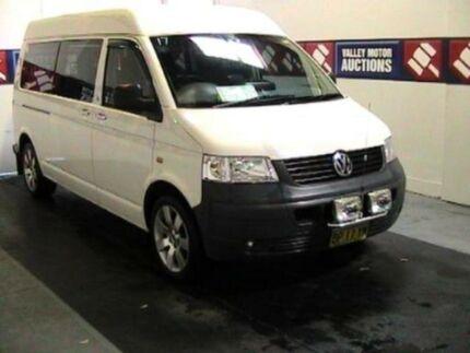 2008 Volkswagen Transporter T5 MY08 White Tiptronic Van Cardiff Lake Macquarie Area Preview