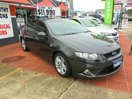 2009 Ford Falcon FG XR6 Grey 6 Speed Sports Automatic Sedan Kippa-ring Redcliffe Area Preview