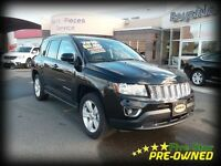 2015 Jeep Compass HIGH ALTITUDE 4X4 LEATHER AND SUNROOF!