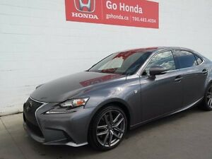2016 Lexus IS 300 IS300, FSPORT, AWD, LEATHER, NAVI