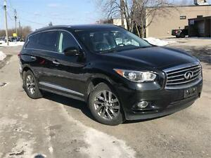 2013 infiniti jx35 awd clean safety etested