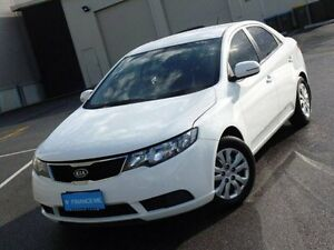 2011 Kia Cerato TD MY11 SI White 6 Speed Sports Automatic Sedan Mount Barker Mount Barker Area Preview