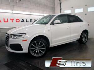 2016 Audi Q3 S-LINE Technik NAVIGATION BLACK OPTICS