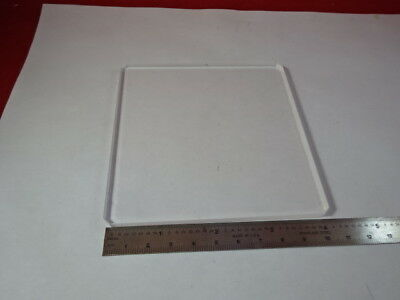 Optical Fused Silica Glass Thick Plate Optics As Is 91-104