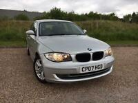 BMW 118 2.0 2007 i SE 5 DOOR *LOW MILES, CLEAN CAR, FULL S/HISTORY*